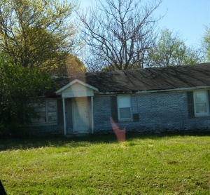 our house on Freeman Mill Rd